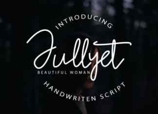 Jullyet Handwritten Font