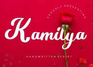 Kamilya Script Font