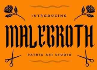 Malegroth Blackletter Font