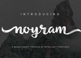 Noyram Script Font