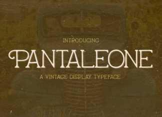Pantaleone Serif Font
