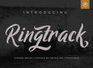 Ringtrack Script Font
