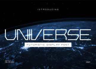 Universe Display Font