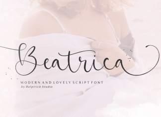 Beatrica Script Font
