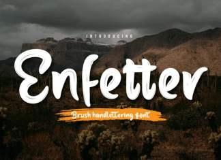 Enfetter Script Font