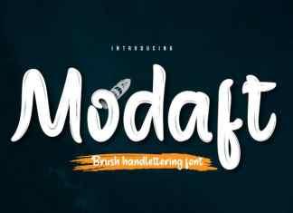Modaft Script Font