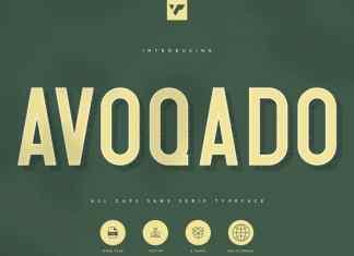 Avoqado - Sans Serif Font