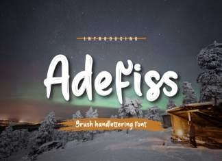Adefiss Script Font