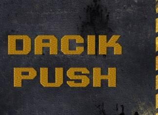 Dacik Push Display Font