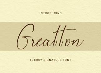 Greatton Script Font