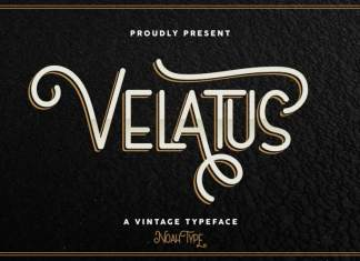 Velatus Sans Serif Font