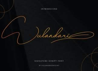 Wulandari Handwriting Font