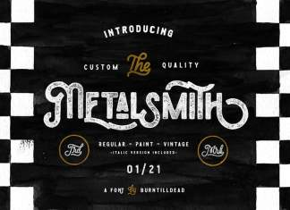Metalsmith Display Font