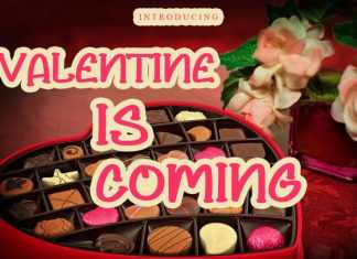 Valentine Is Coming Display Font