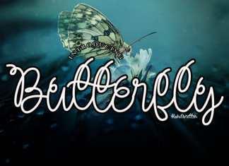 Butterfly Handwritten Font
