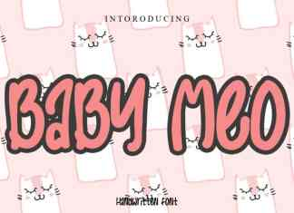 Baby Meo Display Font