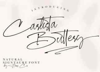 Carlista Buttery Script Font