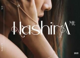 Hashira Mt Display Font