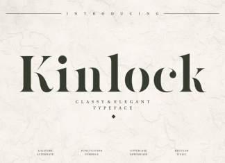 Kinlock Serif Font