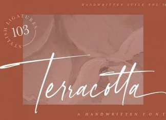 Terracotta Handwritten Font