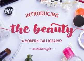The Beauty Script Font
