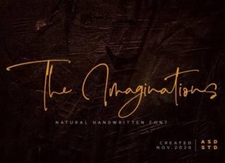 The Imaginations Handwritten Font