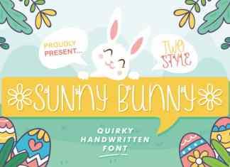 Sunny Bunny Display Font