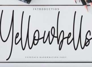 Yellowbells Handwritten Font