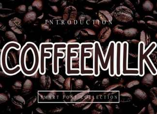 Coffeemilk Display Font