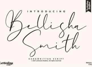 Bellisha Smith Script Font