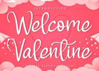 Welcome Valentine Script Font