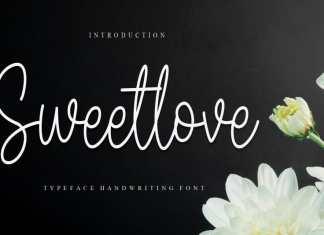 Sweetlove Script Font
