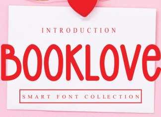 Booklove Display Font