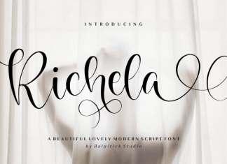 Richela Script Font
