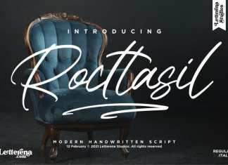 Rocttasil Script Font