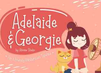 Adelaide Georgie Display Font