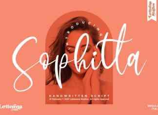 Sophitta Script Font