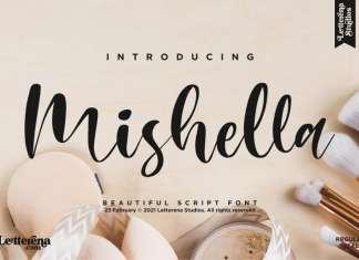 Mishella Script Font
