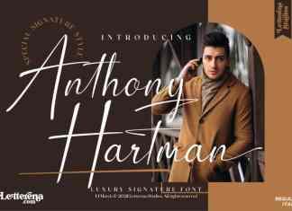 Anthony Hartman Script Font