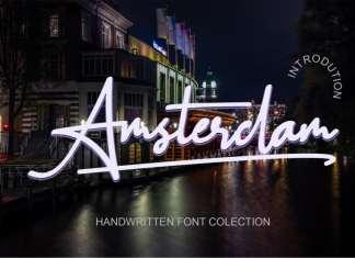 Amsterdam Handwritten Font
