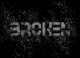 Broken Display Font