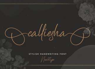 Calliesha Script Font