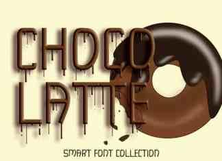Chocolatte Display Font