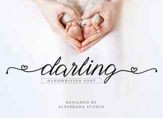 Darling Calligraphy Font