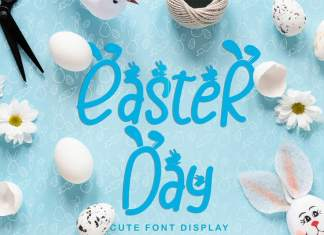 Easter Day Display Font