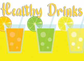 Healthy Drinks Display Font