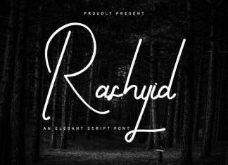 Rashyid Signature Script Font