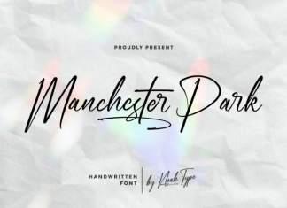Manchester Park Script Font