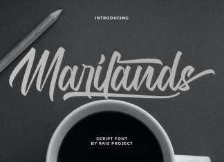 Marilands Script Font