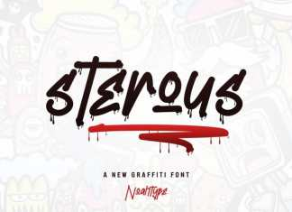 Sterous Display Font